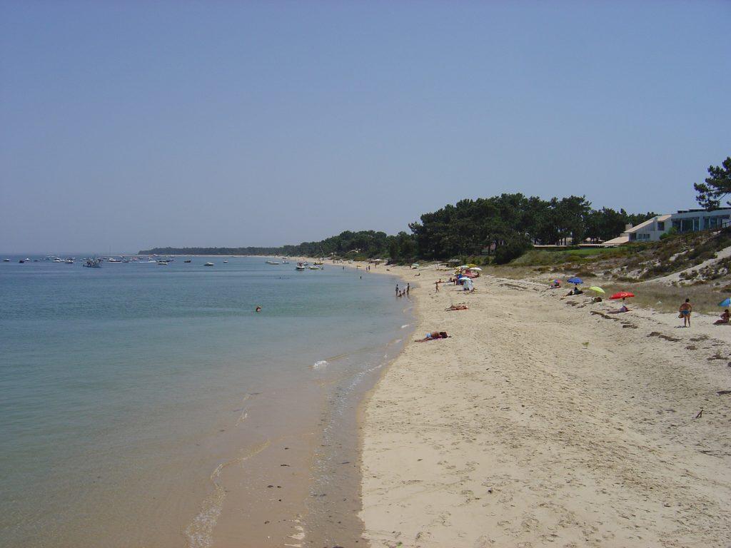 Troia strand Lissabon
