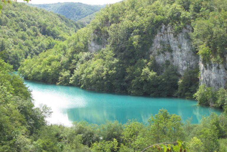 plitvice meer groenblauw
