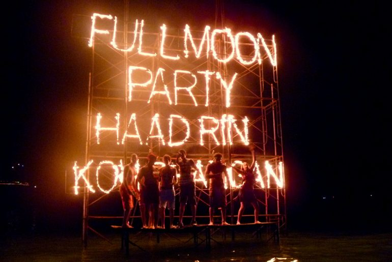 full moon party thailand