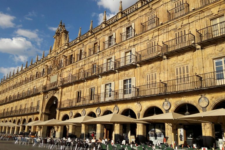 plaza mayor salamanca