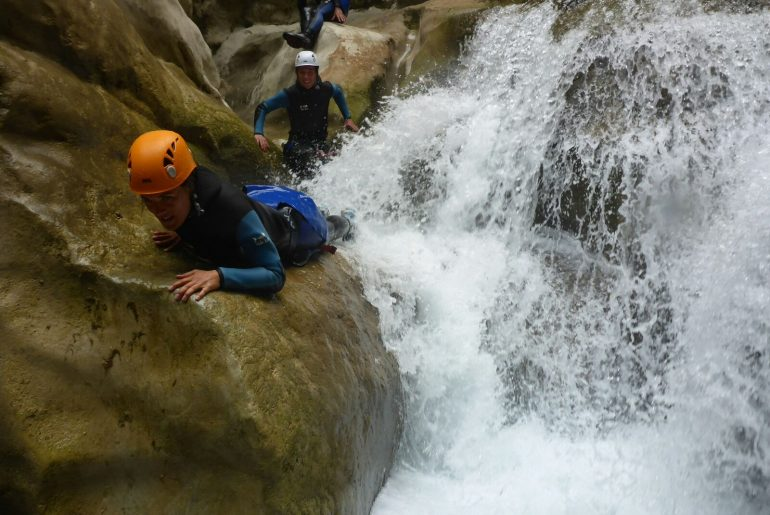 Canyoning gorges verdon