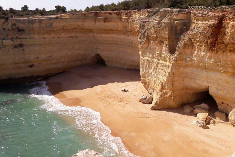 wandeling benagil cave