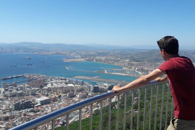 Gibraltar uitzichtpunt