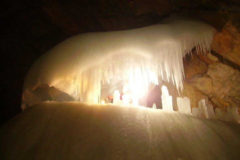 Eisriesenwelt ijsgrot Oostenrijk