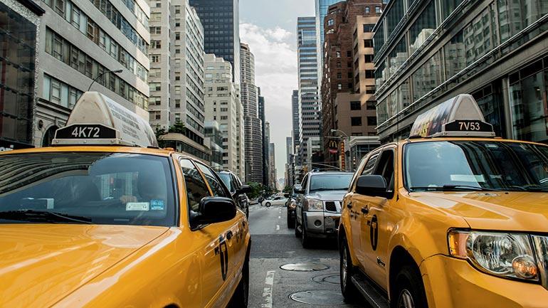 Met de taxi New York City verkennen